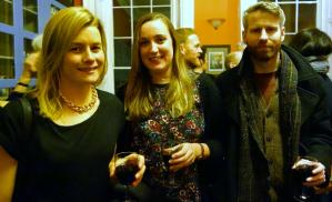 Sarah Fahy, Orla Curran and Rory Ferrie