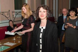 Sinéad Morrissey at the T S Eliot Prize Ceremony
