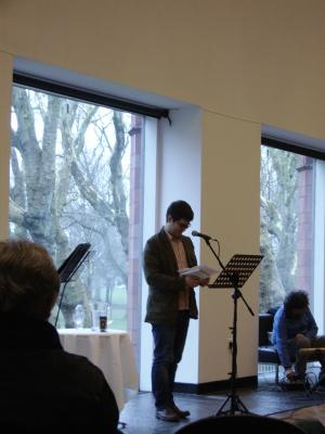 Evan Jones reading from <i>Paralogues</i>