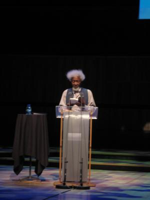 Wole Soyinka, Royal Festival Hall gala reading