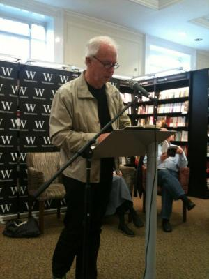 Bill Manhire, Waterstones Reading