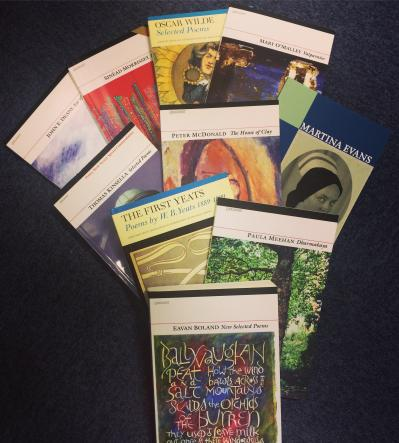 25% off Selected Poetry Books for St. Patricks Day!